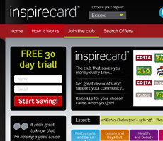 Inspirecard Website Design