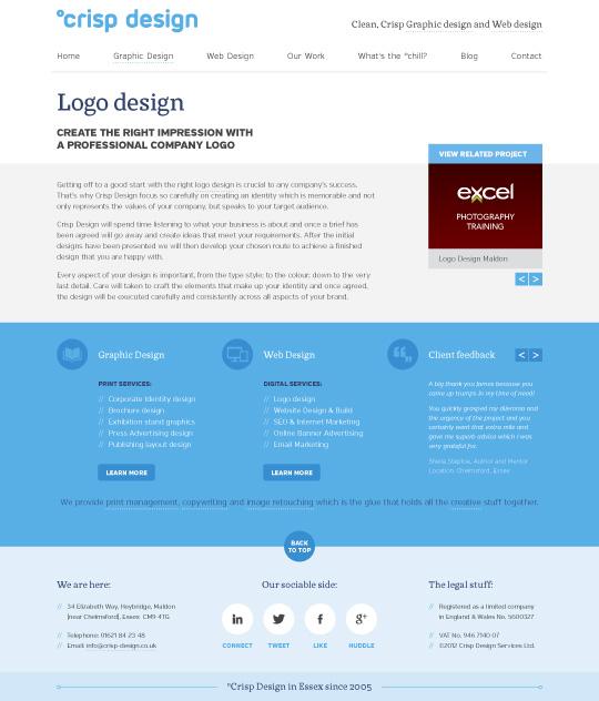 Website Design 2012 content